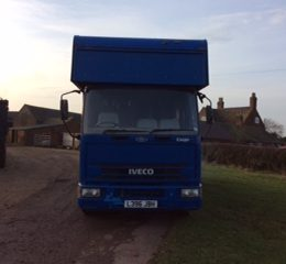 L Reg Iveco Ford 7.5T lorry.