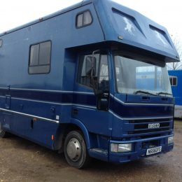 7.5 Iveco Horse Lorry for sale